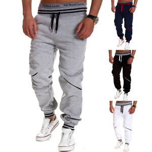 Mens-Jogger-Dance-Sportwear-Baggy-Stylish-Fashion-Designer-Trousers-Casual-Pants