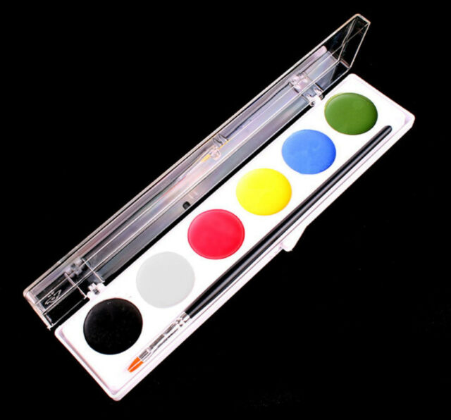 WaterWorks Palette Mehron makeup stage face body hair paint clown theatrical TV