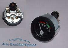 "CLASSIC CAR 12v 2"" 52mm 8-16 voltmeter gauge ILLUMINATED"