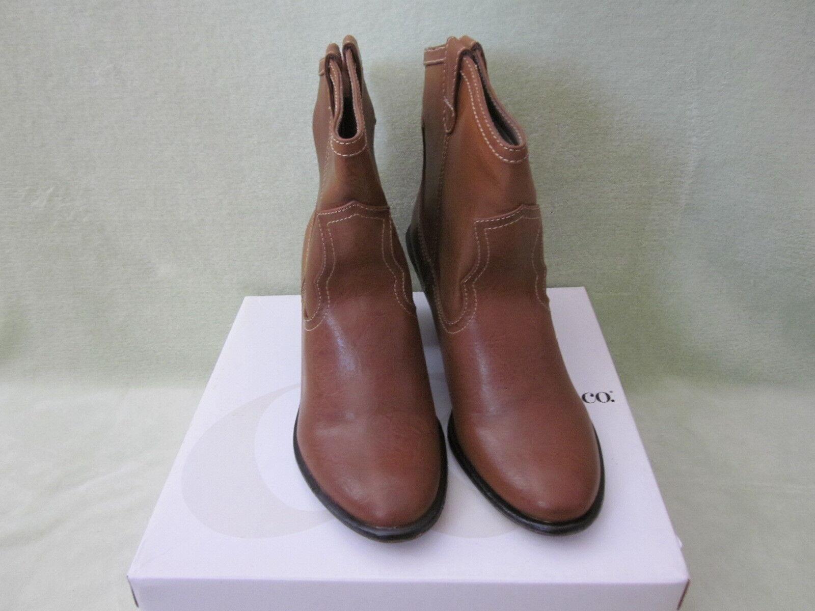 Style&Co Blaise Braun Made Western 9.5 Stiefel Man Made Braun NIB Super CUTE 71f69a