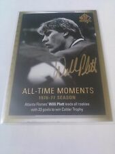 Willi Plett 2015-16 SP Authentic All Time Moments Limited Auto Flames