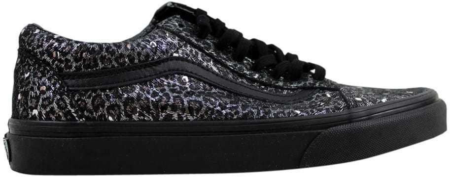Vans Old Skool Black Metallic Leopard VN0004OJJQC Men's SZ 7