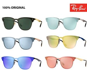 fb6e7adf9f9999 Sunglasses Ray ban Blaze new clubmaster rb 3576n all colours 2018   eBay