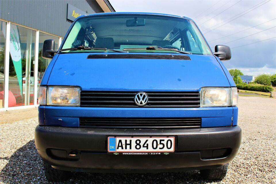 VW Caravelle 2,4 D 10prs, Diesel, årg. 2000