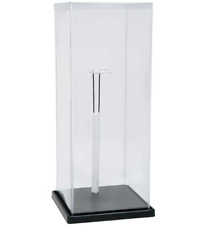"""2 Free Stand s 2 x Display Case For Doll Or Collectibles 18/"""" X 7-3//4/"""" X 7-3//4/"""""""
