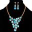 Fashion-Elegant-Women-Rhinestone-Crystal-Choker-Bib-Statement-Pendant-Necklace thumbnail 5