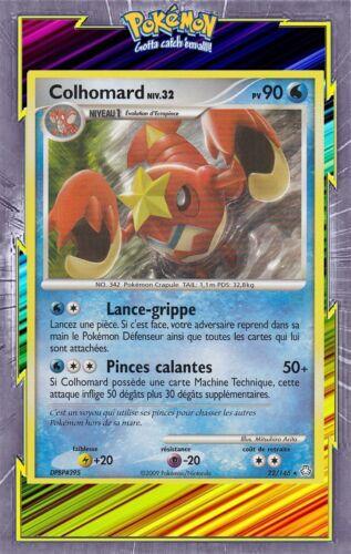 DP6:Eveil des Legendes Colhomard 22//146 Carte Pokemon Neuve Française