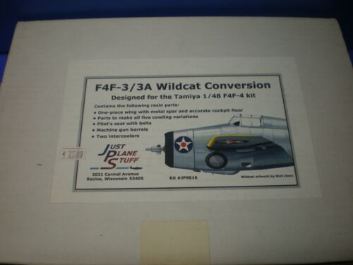 JPS 48 016 1//48 F4F-3//3A Wildcat Conversion for Tamiya Kit