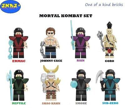 Marvel X-Men Custom Minifigures Blocks Bricks USA Seller NIP Very Nice
