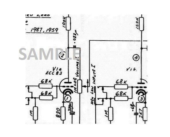 MARSHALL JCM 800 50w 100w B Amplifier Schematic Diagram pdf | eBay on