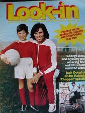 LOOK-IN MAGAZINE 28TH AUG 1971 - GEORGE BEST - BARRY EVANS - DOUGLAS RAE