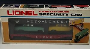 LIONEL-AUTO-LOADER-WITH-4-SPECIALTY-CAR-6414-MIB-O-027-GAUGE