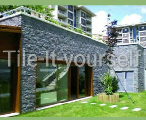 Rivestimento muro di cemento da giardino in plastica stampo