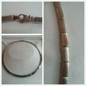 Macizo-Cadena-de-plata-plata-925-Collar-Joyeria-Plata-Collar-de-plata