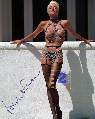 Brigitte Nielsen Signed 8x 10 Sexy Color PHOTO REPRINT