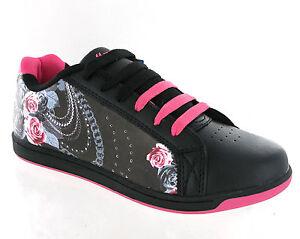 Scarpe Nuovo Nero Da Donna Sport Ginnastica Mercury Skate Moda Rosa Alla xgfHaqg0w