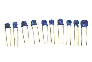 3KV ±5/% NPO 5 pcs Ceramic Capacitor dim:6.5x3mm 10pF // 10J