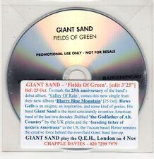 (GU229) Giant Sand, Fields of Green - DJ CD