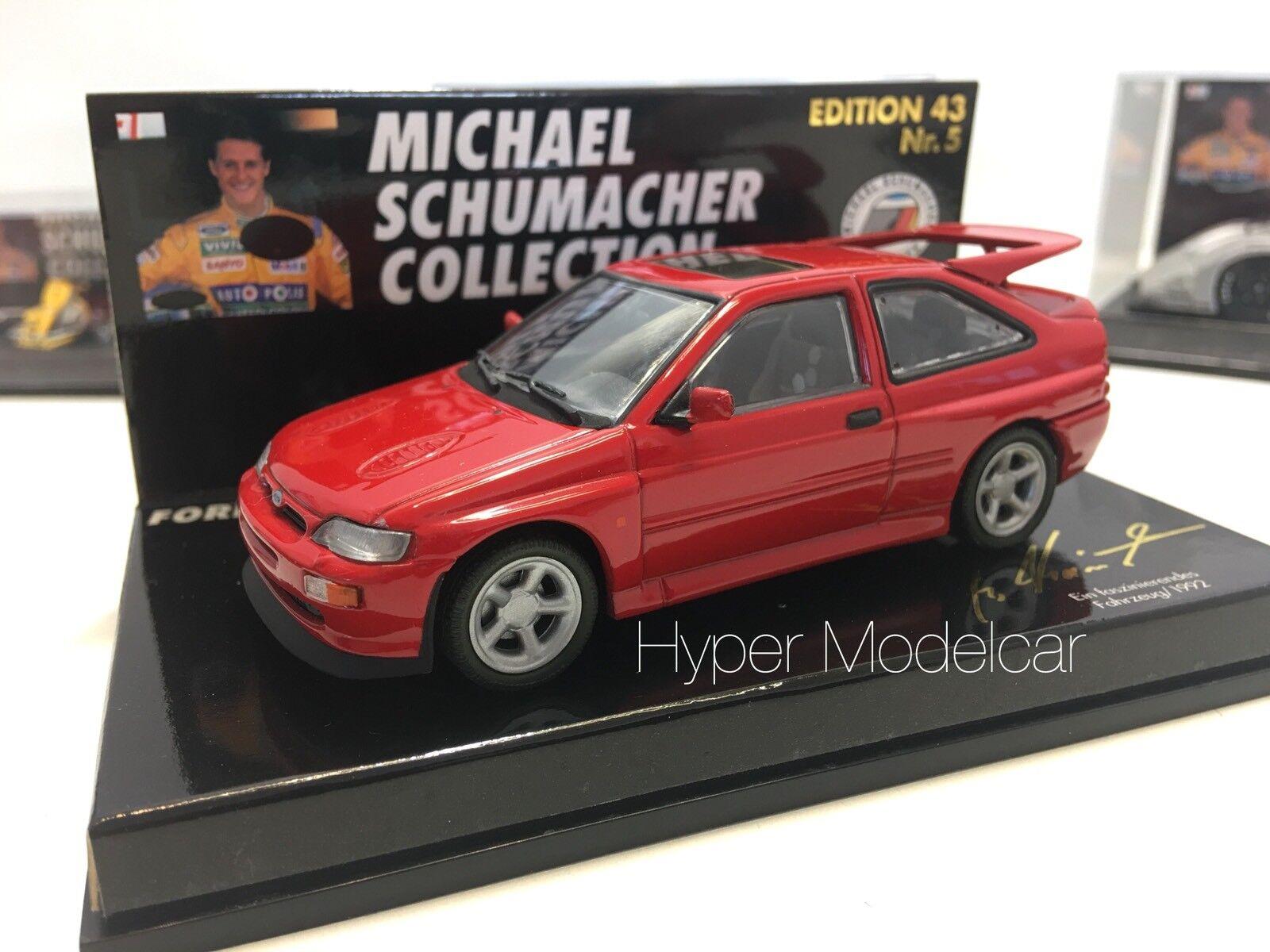 Minichamps 1 43 Ford Escort Cosworth 1992 M. Schumacher Art. 430005