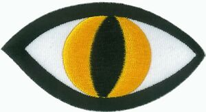 Ecusson patche Oeil thermocollant applique patch DIY
