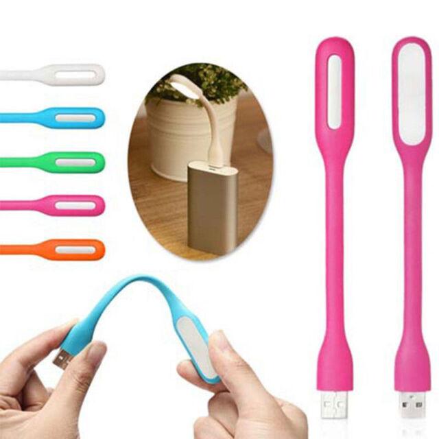 Portable Mini USB LED Flexible Computer Lamp Reading Light For Notebook Laptop
