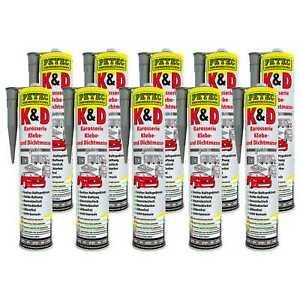 10x-Petec-k-amp-d-carroceria-tapare-y-densa-masa-gris-310ml