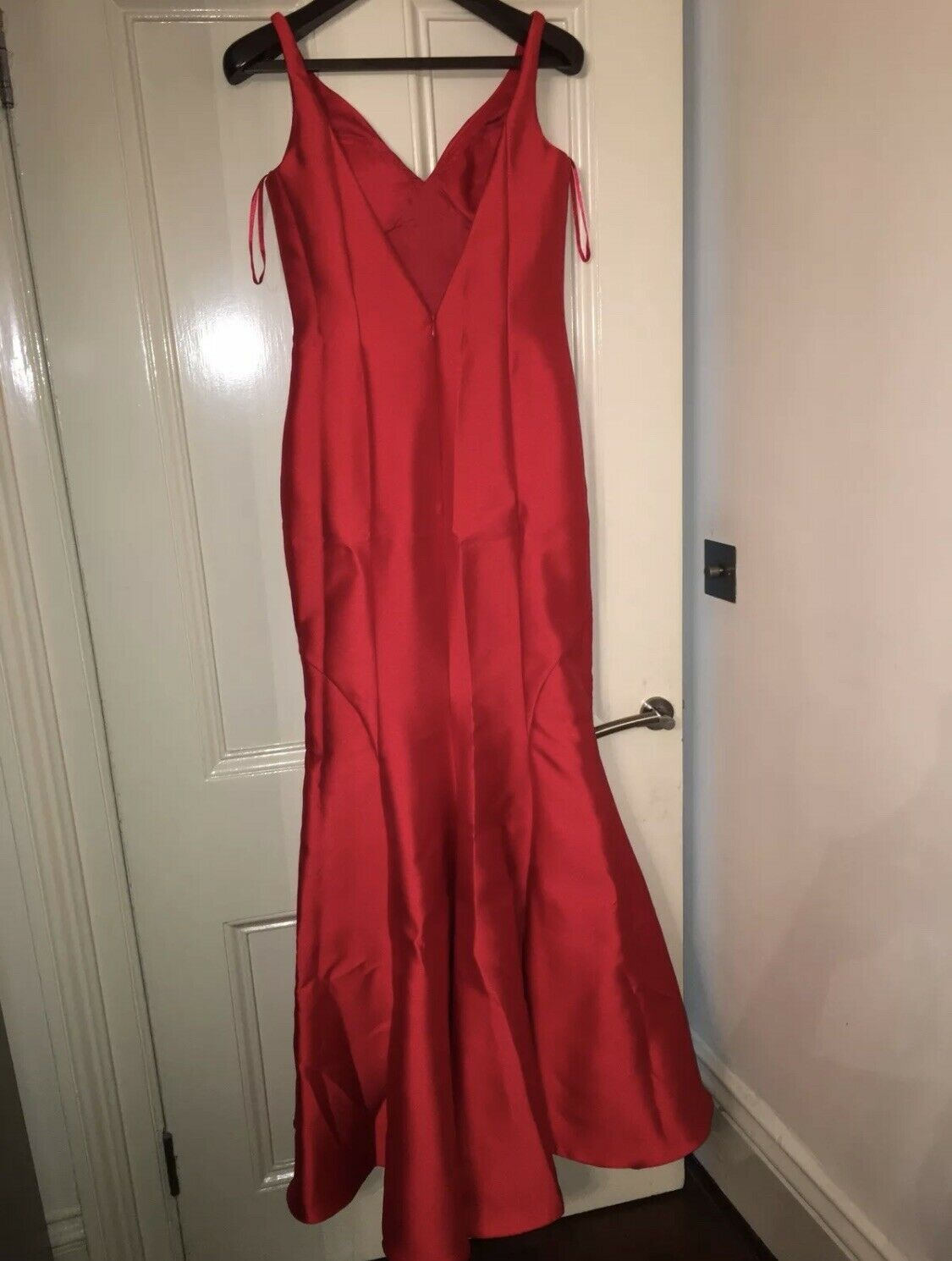 Pronovias red Gown Dress Size 12 UK
