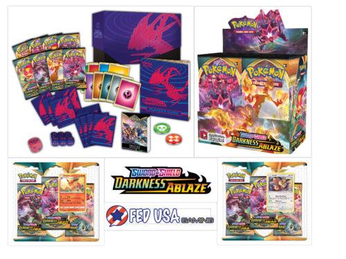 Blisters Pokemon TCG Darkness Ablaze ULTIMATE TRAINER KIT Booster Box Elite