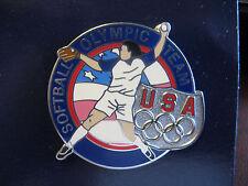Team USA Olympic Pin - Softball