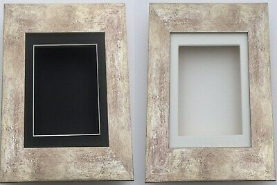 Silver 3D Deep Box Picture Frame Memory Medals Memorabilia Flowers Babycast