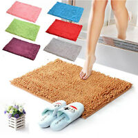 Us Fantastic Job Shaggy Microfibre Bathroom Shower Bath Mat Rug Carpet Non-slip
