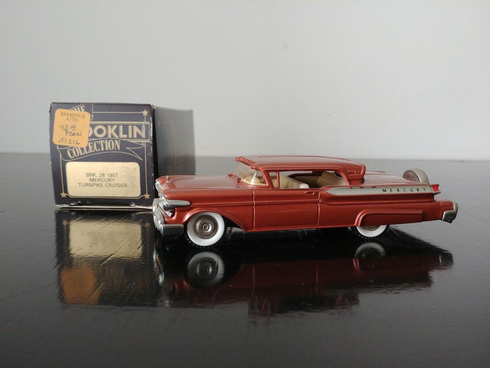 la calidad primero los consumidores primero 1 43 Brooklin BRK.28 1957 Mercury Turnpike Cruiser Muy Muy Muy Rara   Disfruta de un 50% de descuento.