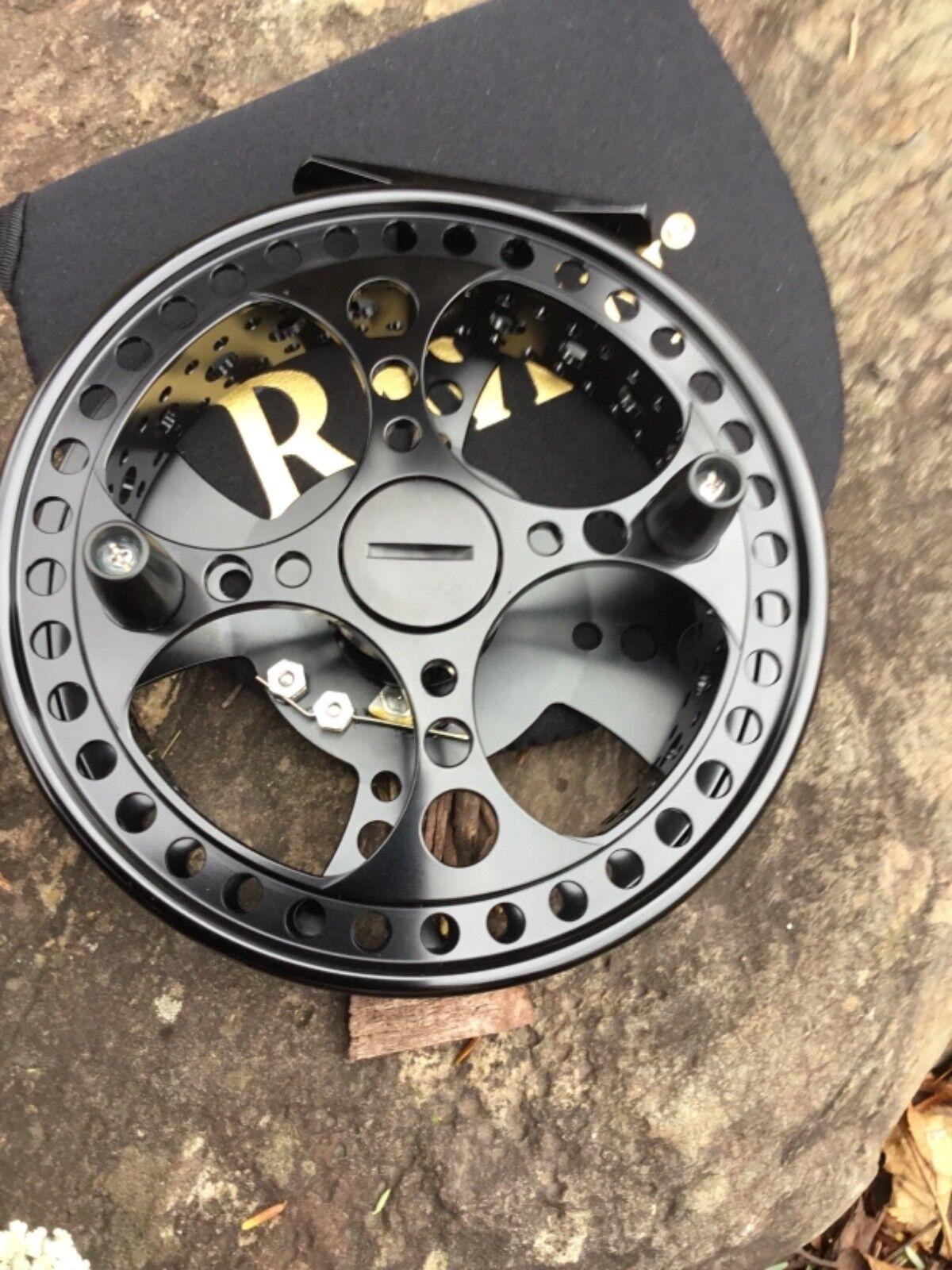 Raven matriz Edición Limitada XL flotar Cocherete 5 1 8 , bolsa libre, acabado negro azabache