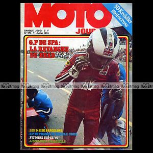 MOTO-JOURNAL-N-179-GODIER-GENOUD-KREIDLER-50-VAN-VEEN-CROSS-GRAND-PRIX-SPA-1974