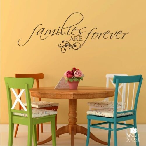 Vinyl Wall Sticker Art Families Are Forever Wall Decal
