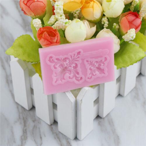 cake vintage relief border silicone fondant mold cake.decor tools gumpaste moHIC