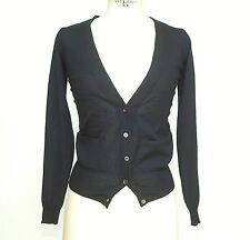 MARNI Cardigan V-neck Sweater dark Navy  38 / S