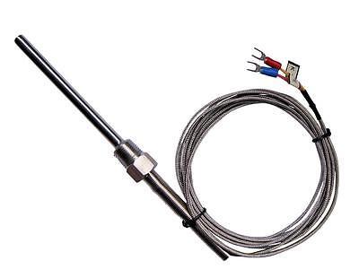 Professionale 1 Pz 3M Termocoppia Tipo K 100mm Sonda Sensore Alta Temperatura
