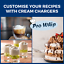 Pro-Whip-8g-Whipped-Cream-Chargers-Whipping-Canisters-ADD-Whipping-Dispenser thumbnail 2