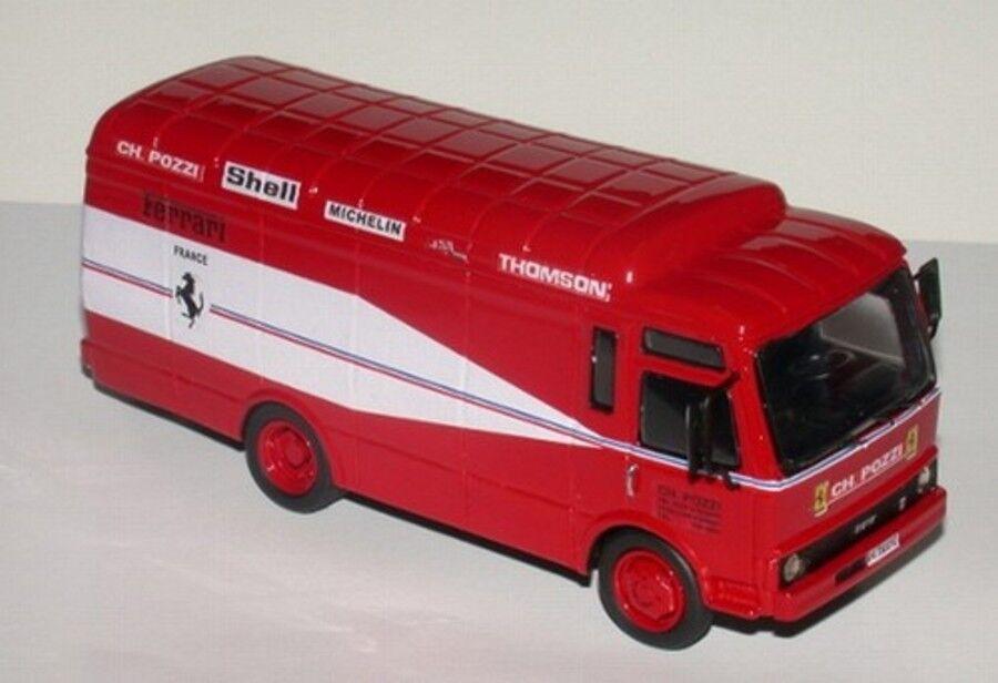 Kit OM55 Unic Assistenza Ferrari Ch. Pozzi Le Mans 1978 –Tron Models kit 1 43