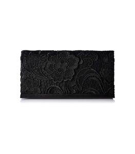 black lace clutch bag ebay