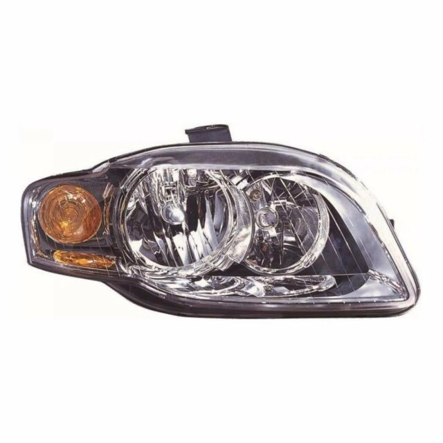 For Audi A4 9/04-6/06 Headlight Lamp Amb Ind W/Mtr Right Uk Drivers Side
