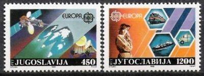 Postfrisch SchnäPpchenverkauf Zum Jahresende Cept 1988 Jugoslawien Nr.2273/74 ** Europa