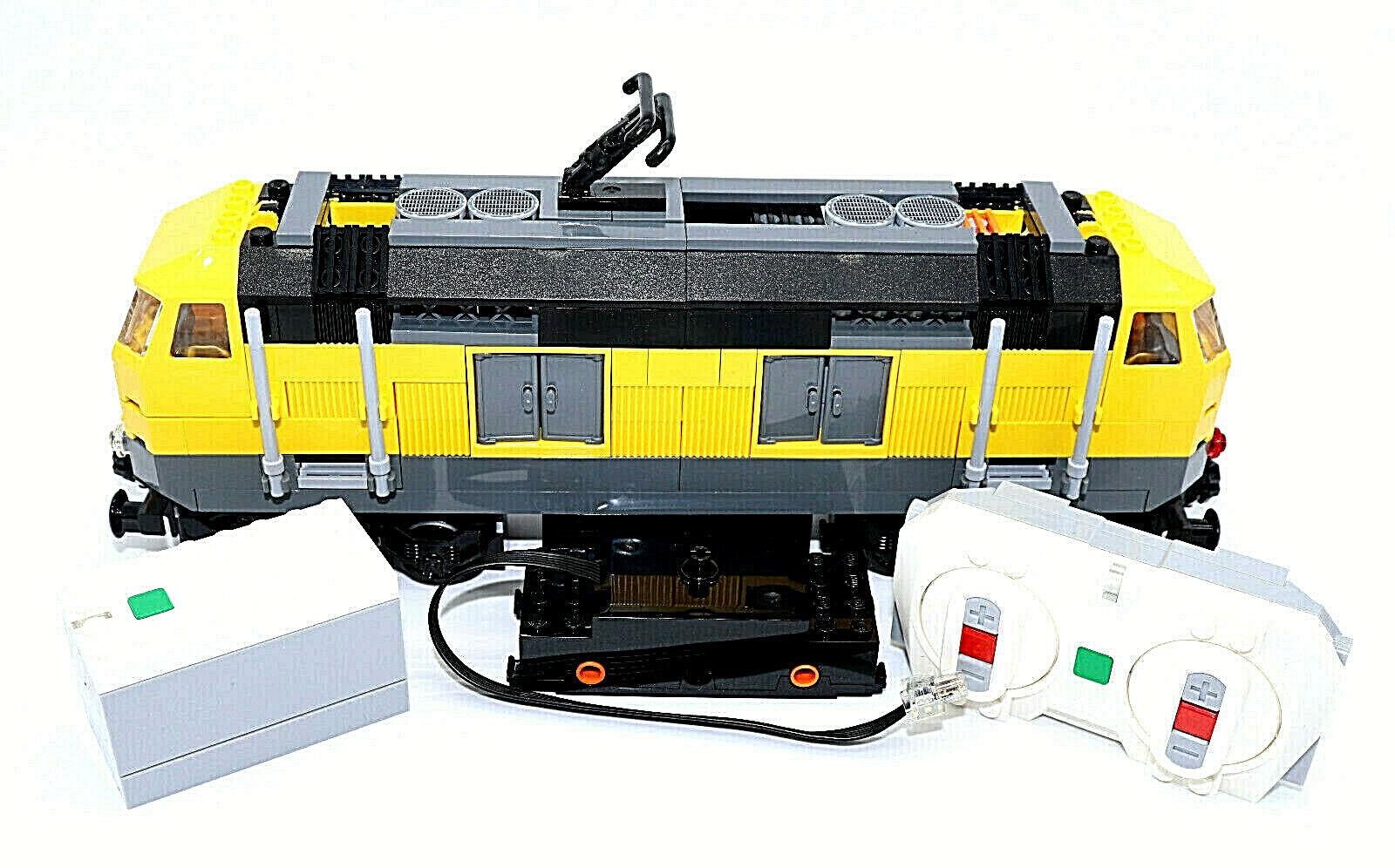 Lego Tren blueetooth yellows Locomotora Tren de Carga 7939,7938, 60051,60052,