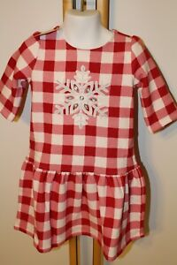 Gymboree North Pole Party Girls Size 3t Snowflake Dress