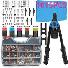 1015900x Rivet Nut Gun Kit Nutsert Rivnut Setting Tool Setter Blind Riveter Set