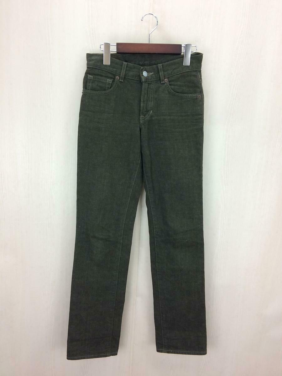 Margaret Howell Women's Straight Denim Pants Jeans Casual 26 Khaki Cotton F S