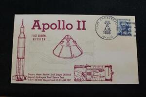 Espacio-Cubierta-1966-Apolo-II-2ND-Etapa-Orbit-Launch-Error-5661