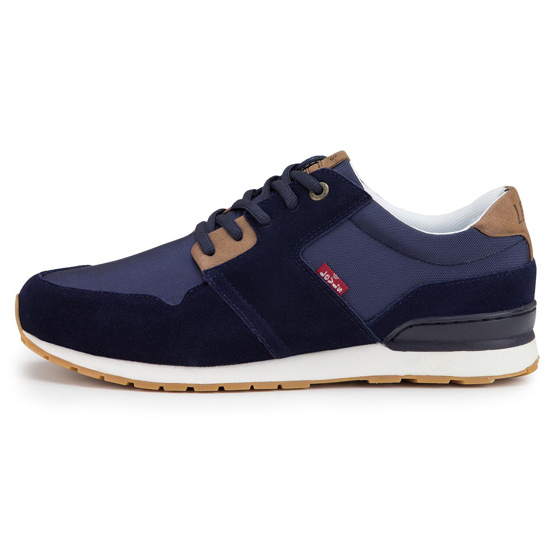 LEVI'S NEW Mens NY Runner II Shoes Navy Blue BNWT