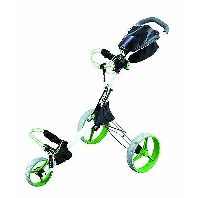 Big Max IQ+ Golftrolley  - Farbe: weiß - lime , Neu!